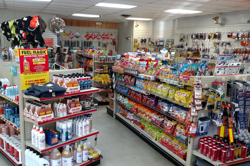Frank's Truck Stop Convenience Store in Chesapeake